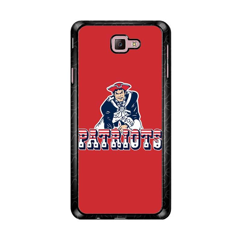 Flazzstore New England Patriots Z4150 Custom Casing for Samsung Galaxy J7 Prime