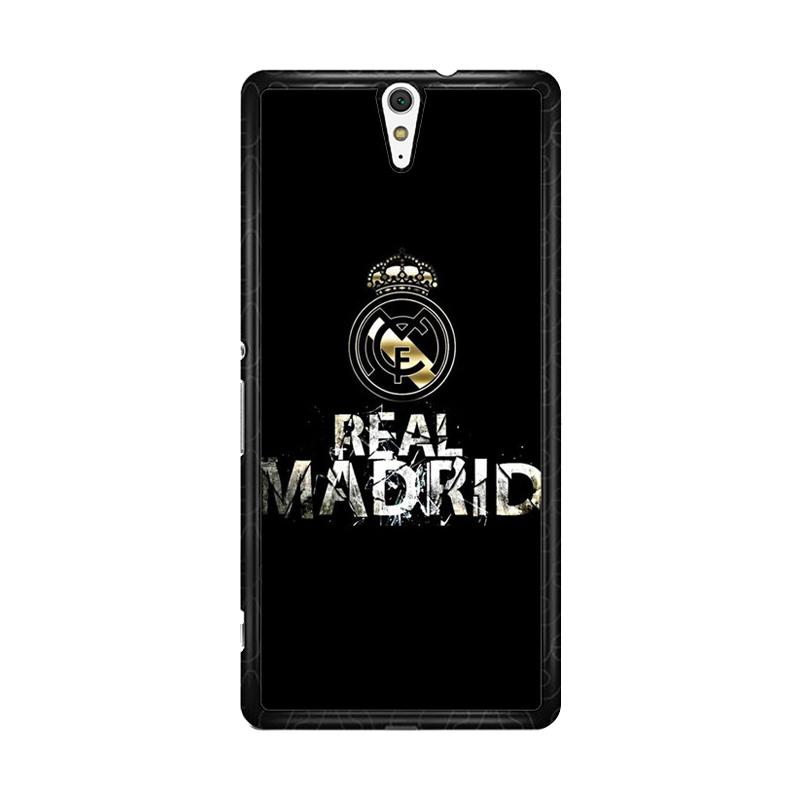 Flazzstore Real Madrid Logo O1047 Custom Casing for Sony Xperia C5 Ultra
