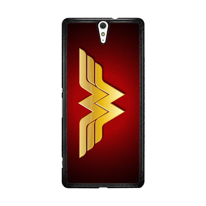 Flazzstore Wonder Woman Logo F0248 for Sony Xperia C5 Ultra