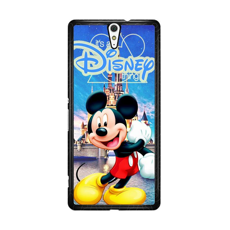 Flazzstore Mickey Mouse Disney Z0548 Custom Casing for Sony Xperia C5 Ultra