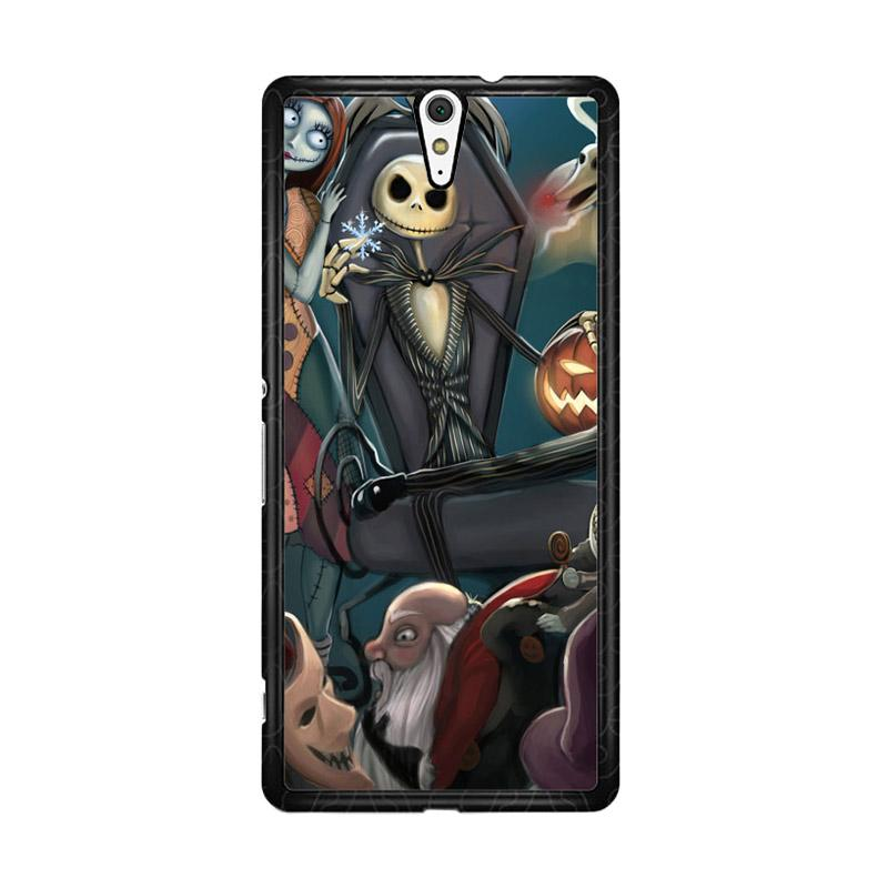 Flazzstore Nightmare Before Christmas Z1482 Custom Casing for Sony Xperia C5 Ultra