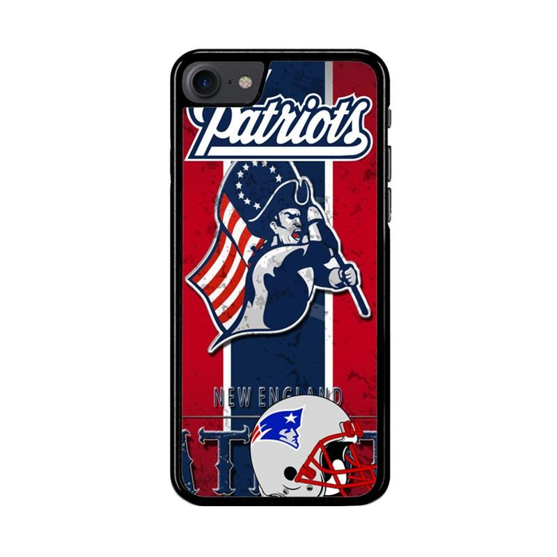 Flazzstore New England Patriots Z2997 Custom Casing for iPhone 7 or 8