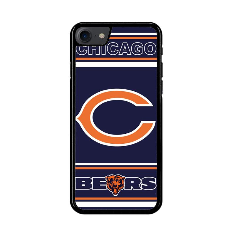 Flazzstore Chicago Bears Z3019 Custom Casing for iPhone 7 or 8