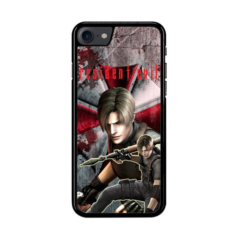 Flazzstore Resident Evil Leon Z3327 Custom Casing for iPhone 7 or 8