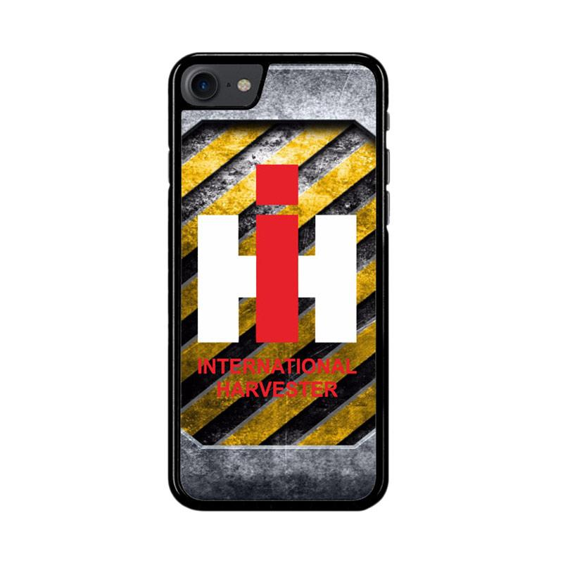 Flazzstore Harvesters Ih Tractor Logo Z3869 Custom Casing for iPhone 7 or 8