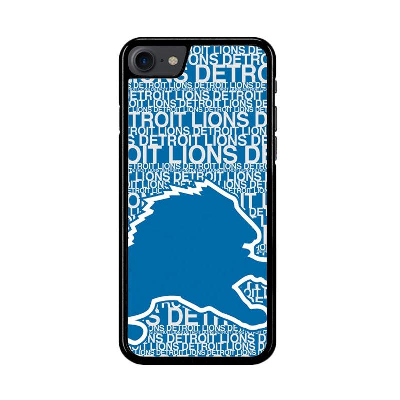 Flazzstore Nfl Detroit Lions Z4139 Custom Casing for iPhone 7 or 8
