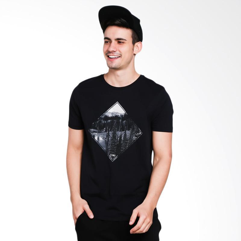 Famo 4301 Men Tshirt - Black