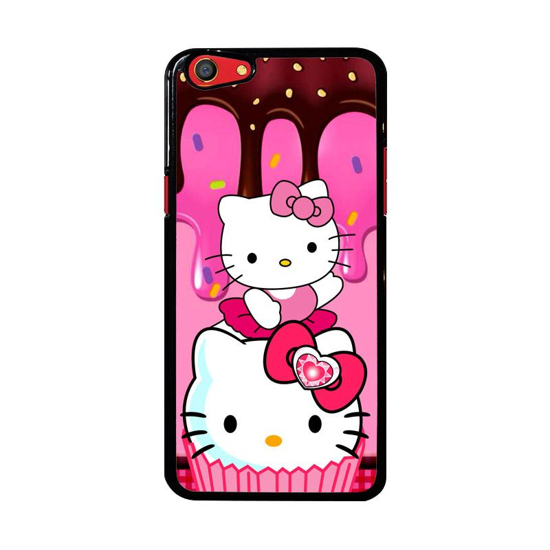 Flazzstore Hello Kitty Cute Z3336 Custom Casing for Oppo F3