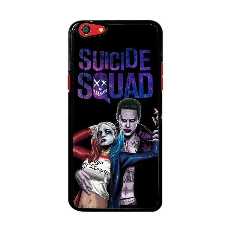 Flazzstore Suicide Squad Joker  Harley Vector Z3886 Custom Casing for Oppo F3