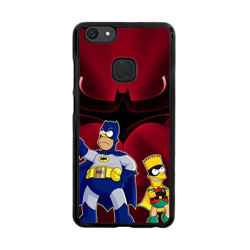 Flazzstore The Simpsons Batman Robin Z3321 Custom Casing for Vivo V7 Plus