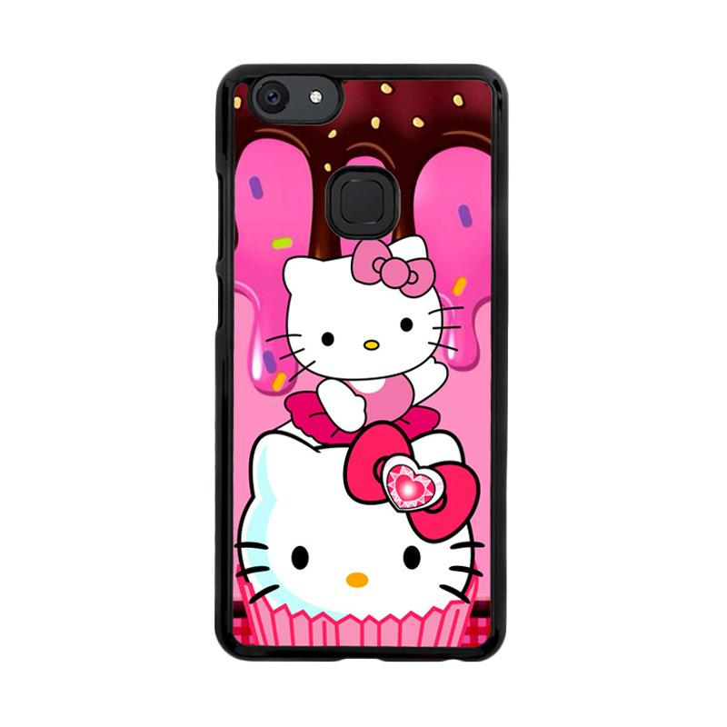 Flazzstore Hello Kitty Cute Z3336 Custom Casing for Vivo V7 Plus