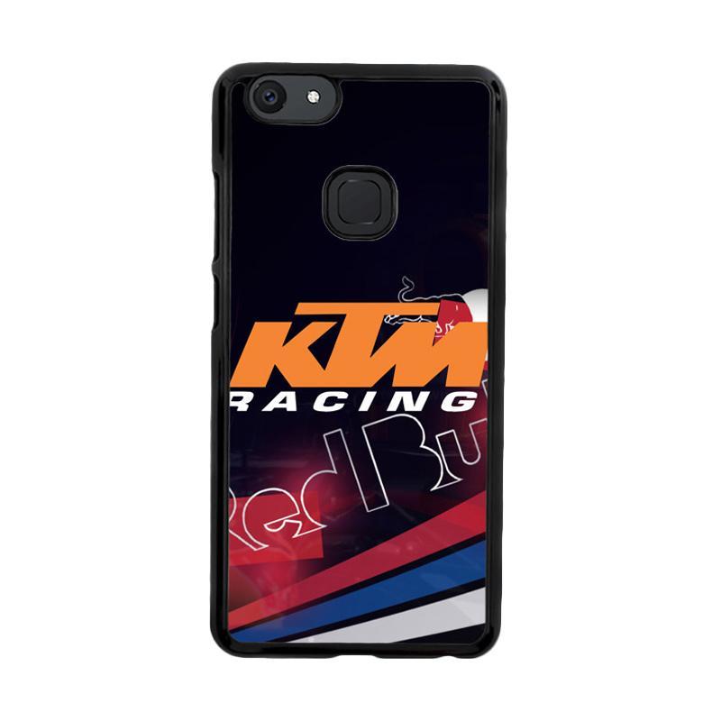 Flazzstore Ktm Racing Red Bull Z3359 Custom Casing for Vivo V7 Plus