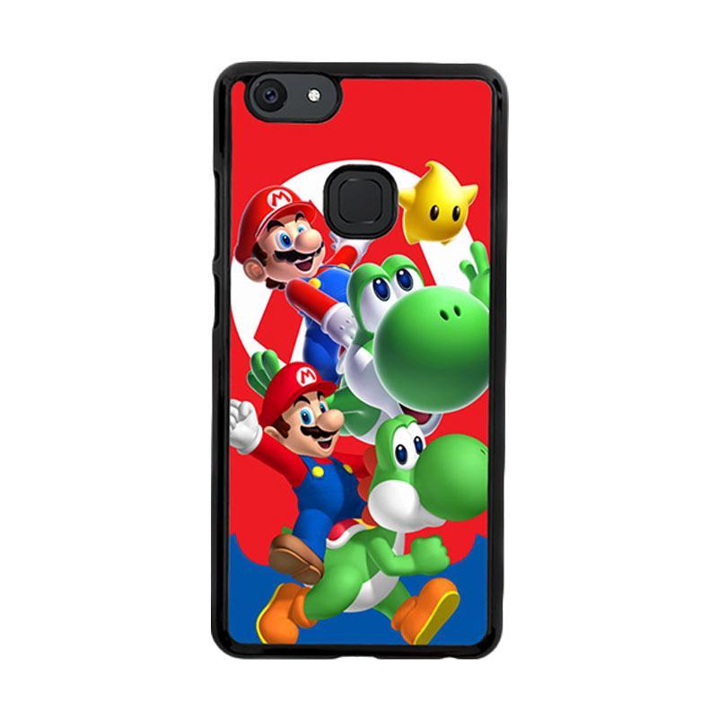 Flazzstore Mario Bros Yoshi Z3461 Custom Casing for VIVO V7 Plus