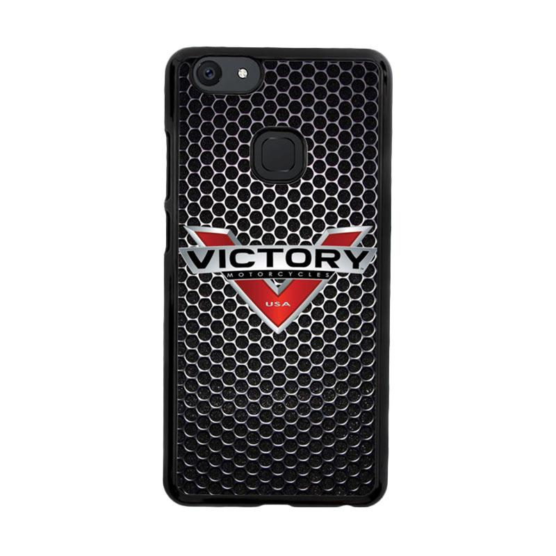 Flazzstore Victory Motorcycle Logo Z3877 Custom Casing for Vivo V7 Plus