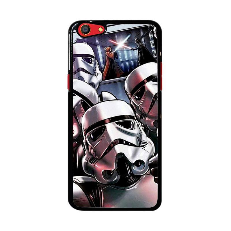 Flazzstore Star Wars Stormtrooper Selfie Z4205 Custom Casing for Oppo F3