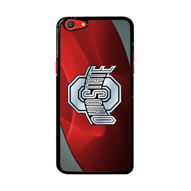 Flazzstore Ohio State Red Z4242 Custom Casing for Oppo F3