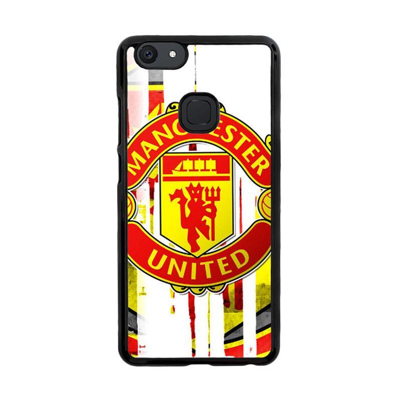 Flazzstore Manchester United Art Logo Z4013 Custom Casing for Vivo V7 Plus
