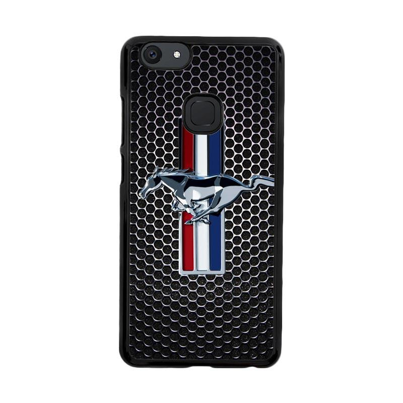 Flazzstore Ford Mustang Carbon Fiber Z4267 Custom Casing for Vivo V7 Plus