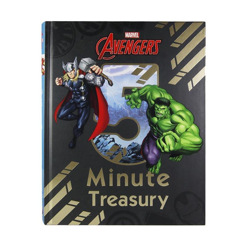 Parragon Books Marvel Avengers 5 Minute Treasury Buku Anak