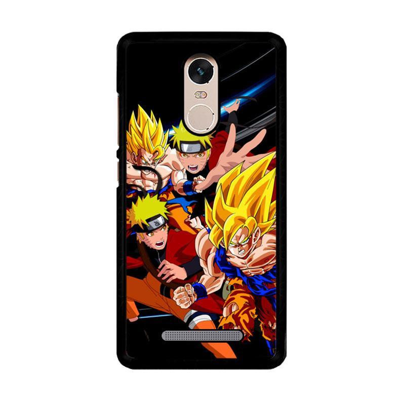 Flazzstore Goku Naruto Z2599 Custom Casing for Xiaomi Redmi Note 3 or Note 3 Pro