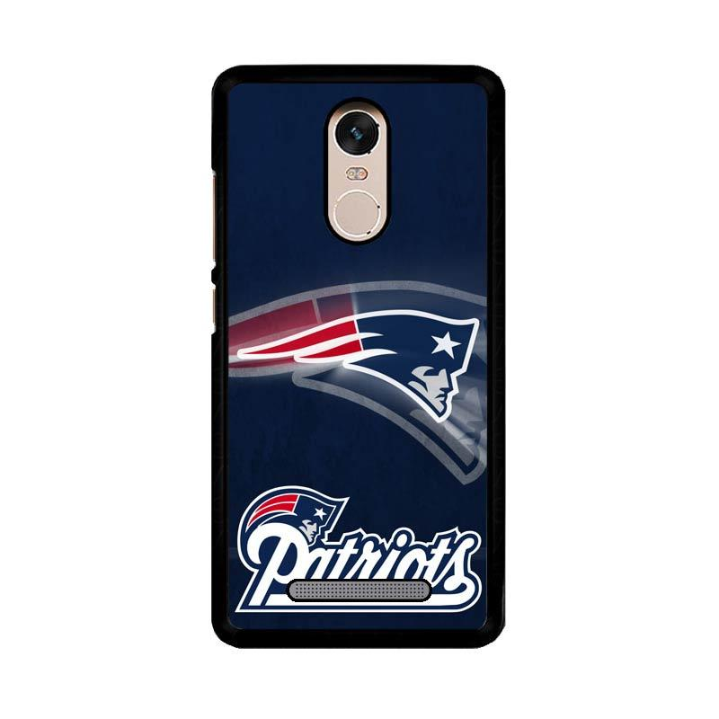 Flazzstore New England Patriots Z2996 Custom Casing for Xiaomi Redmi Note 3 or Xiaomi Redmi Note 3 Pro