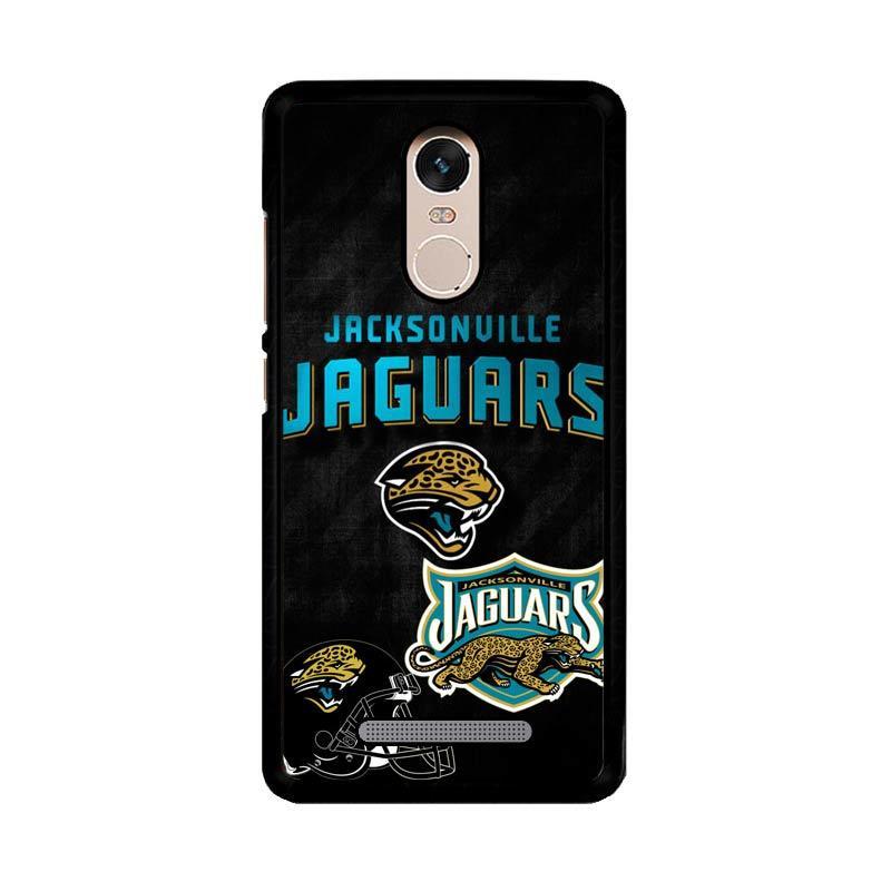 Flazzstore Jacksonville Jaguars Logo Z3006 Custom Casing for Xiaomi Redmi Note 3 or Xiaomi Redmi Note 3 Pro