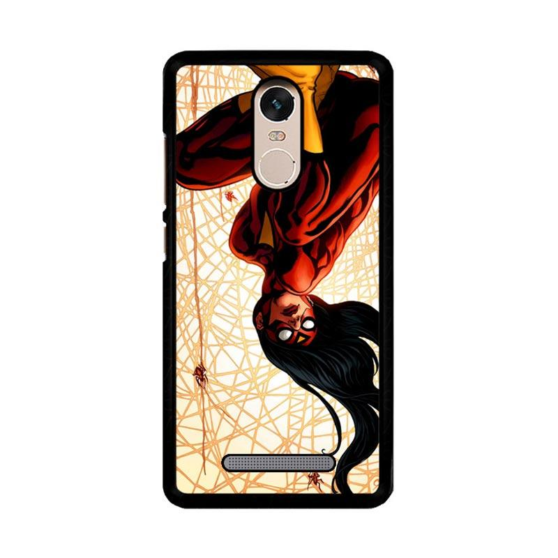 Flazzstore Spiderwoman Z4081 Custom Casing for Xiaomi Redmi Note 3 or Note 3 Pro