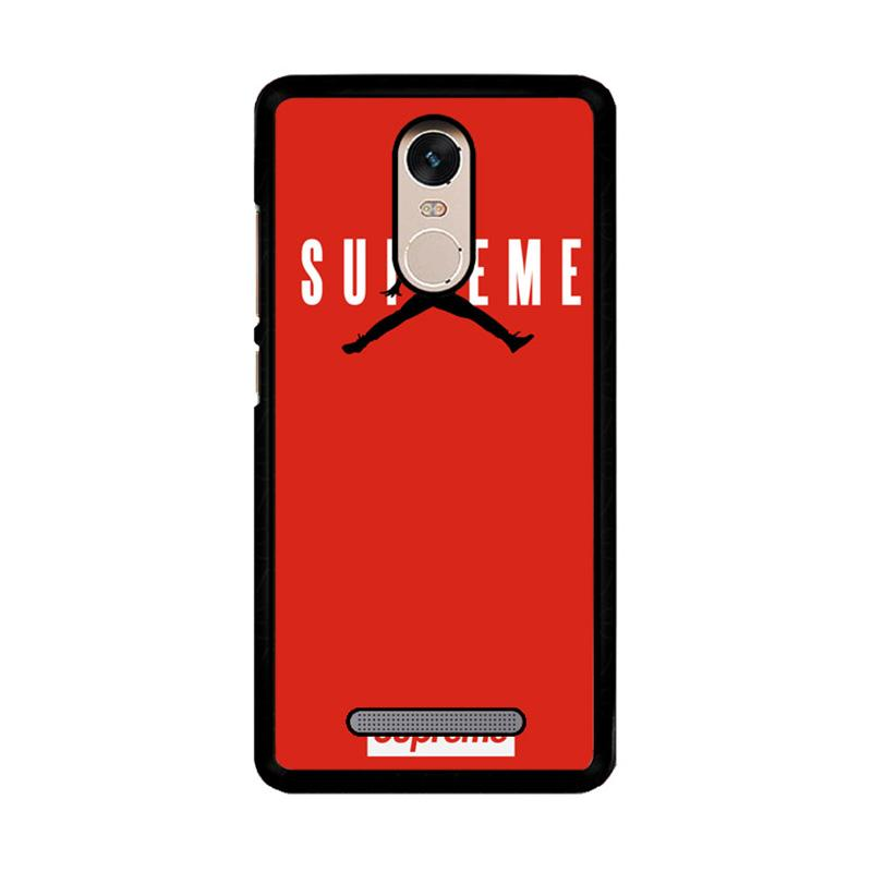 Flazzstore Supreme Jordan Logo Z4157 Custom Casing for Xiaomi Redmi Note 3 or Note 3 Pro