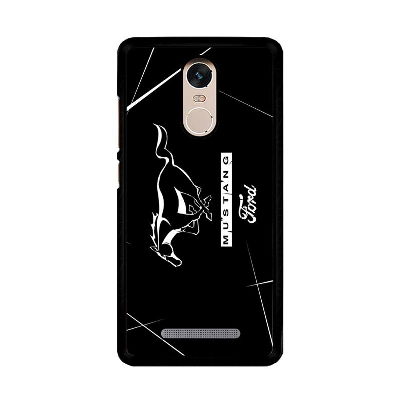 Flazzstore Ford Mustang Z4266 Custom Casing for Xiaomi Redmi Note 3 or Note 3 Pro