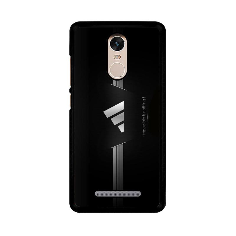 Flazzstore Adidas Black Z4334 Custom Casing for Xiaomi Redmi Note 3 or Note 3 Pro