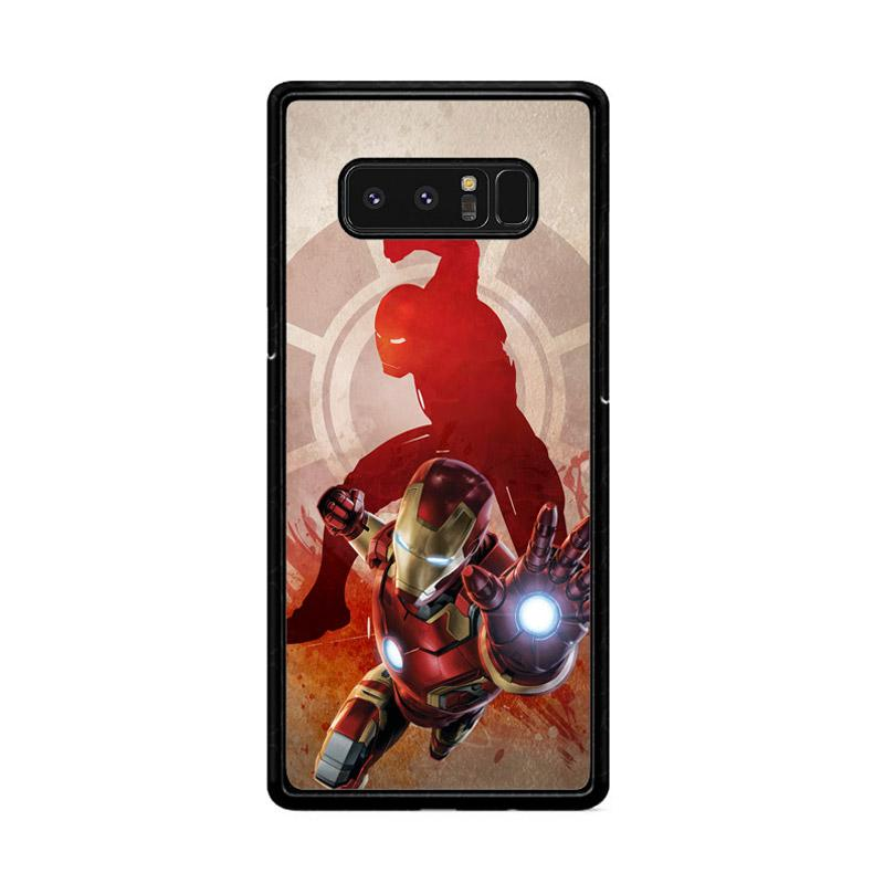 Flazzstore Marvels Iron Man Pose Z2891 Custom Casing for Samsung Galaxy Note 8