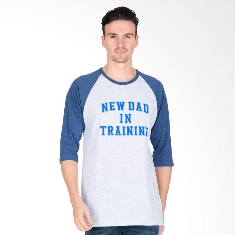 Tendencies New Dad In Raglan T-shirt Pria