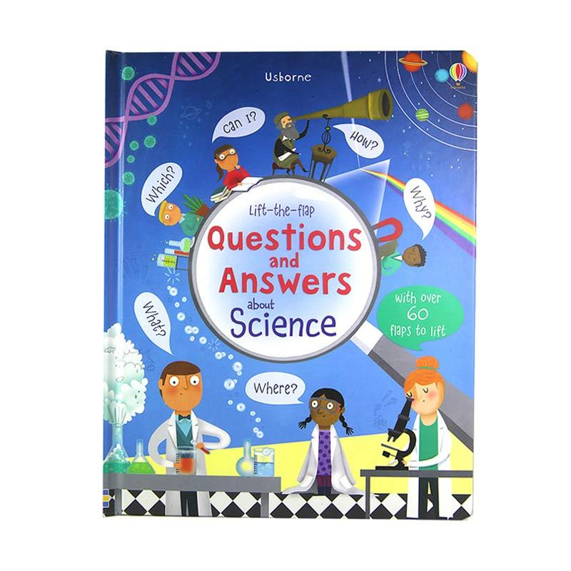 Usborne Books Questions And Answers About Science Buku Anak