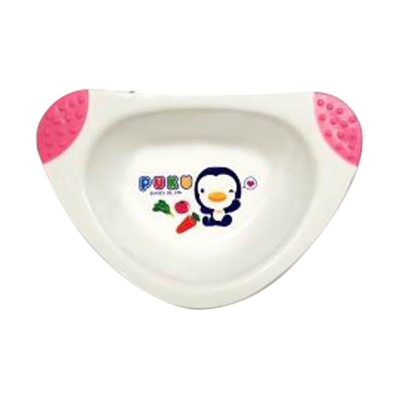 Puku P14324 Non Slip Mangkuk Mini Peralatan Makan Anak - Pink