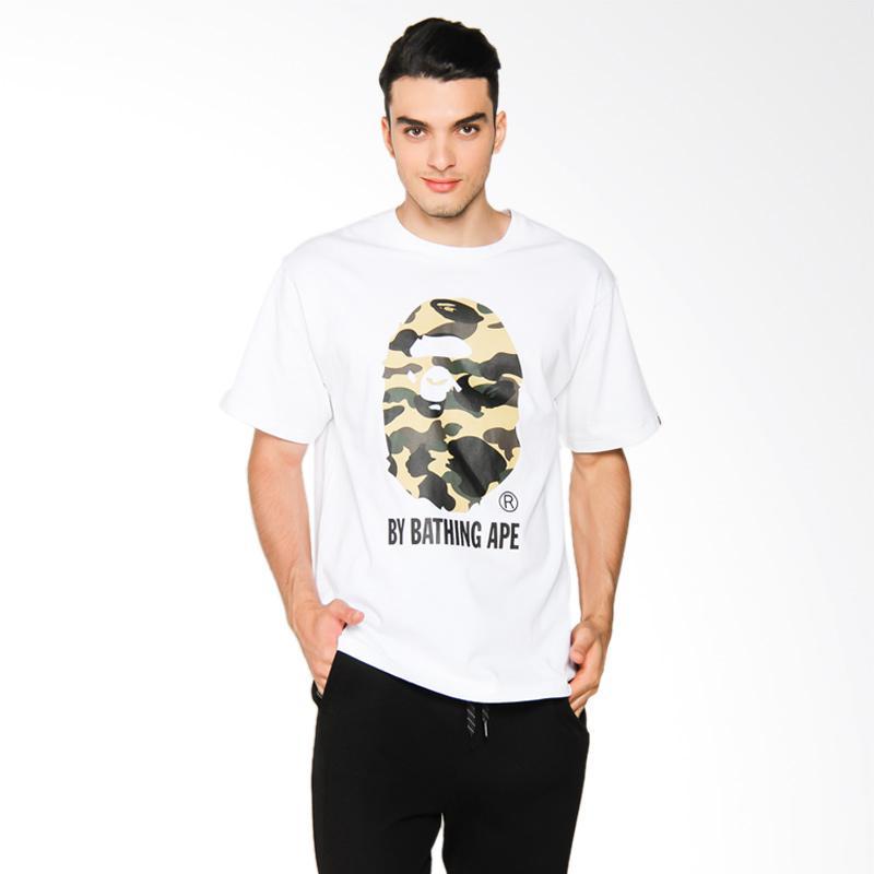 A Bathing Ape 1st Camo by Bathing Tee T-shirt Pria