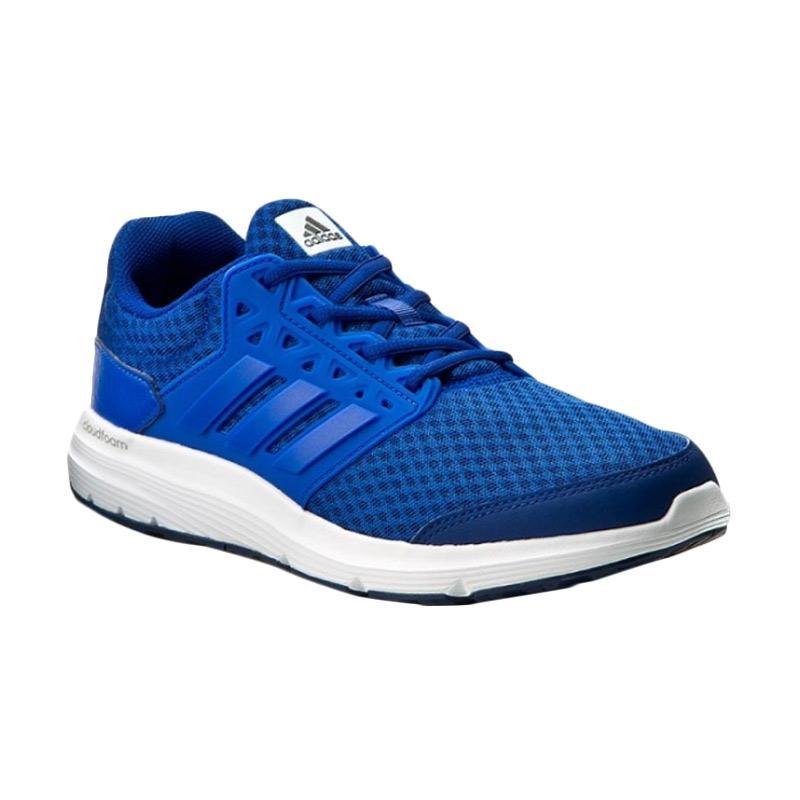 adidas Galaxy 3 M Sepatu Lari Pria - Blue [BB4361]
