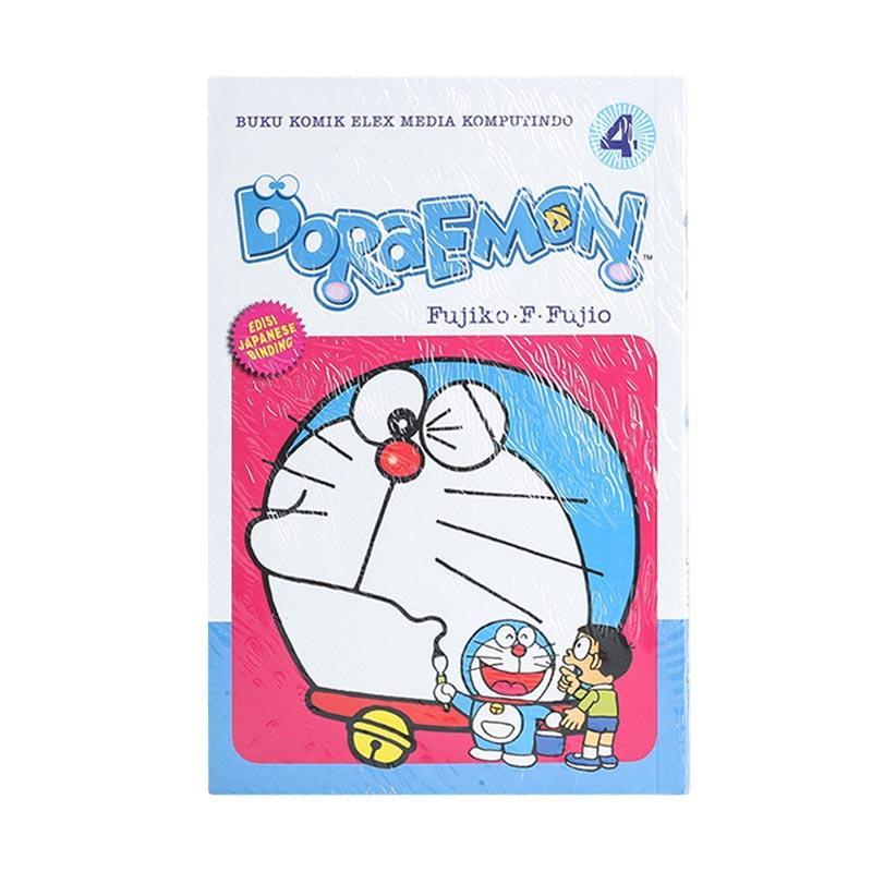 Elex Media Komputindo Doraemon 04 200433450 by Fujiko F. Fujio Buku Komik [Terbit Ulang]