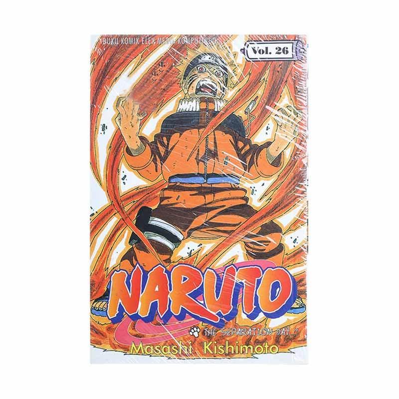 Elex Media Komputindo Naruto 26 200017791 by Masashi Kishimoto Buku Komik