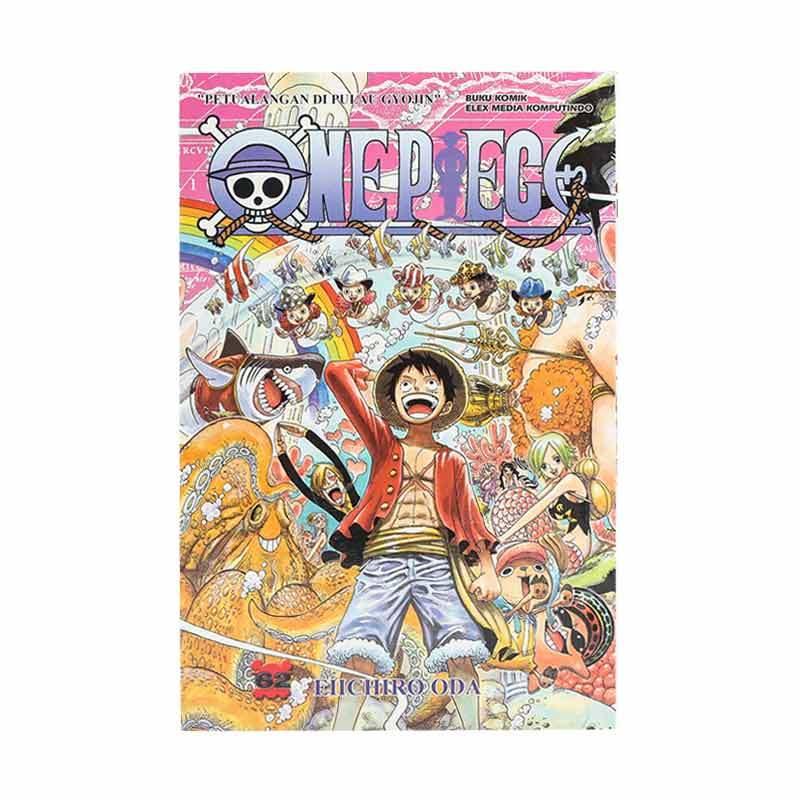 Elex Media Komputindo One Piece 62 201664753 by Eiichiro Oda Buku Komik