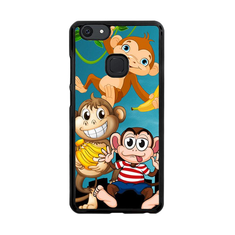 Flazzstore Baby Monkeys D0208 Custom Casing for Vivo V7