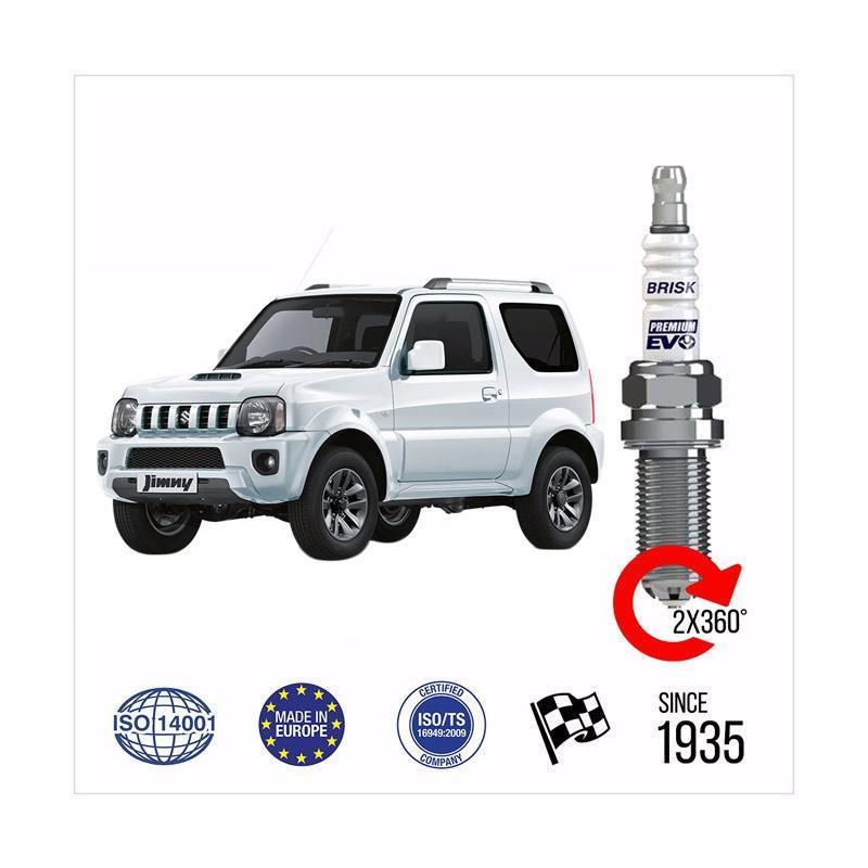 harga BRISK Premium Evo DR15SXC Busi Silver untuk Mobil Suzuki Jimny 1.3L G13BB M13A Blibli.com