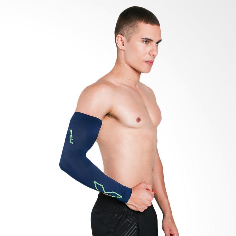 harga 2XU Flex Run Comp SS17 Arm Sleeves [UA4009A OMG/GKG M] Blibli.com