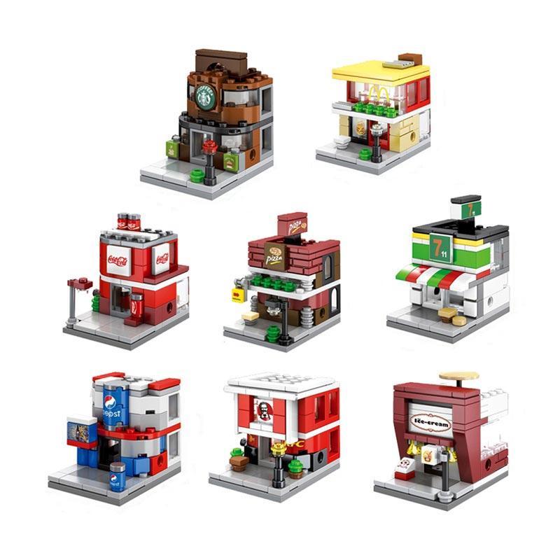 Sembo 8 in 1 World Great Dream Modular Set Mini Block