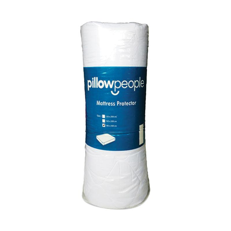 PillowPeople Standard Matras Protector - White [180 x 200 cm]