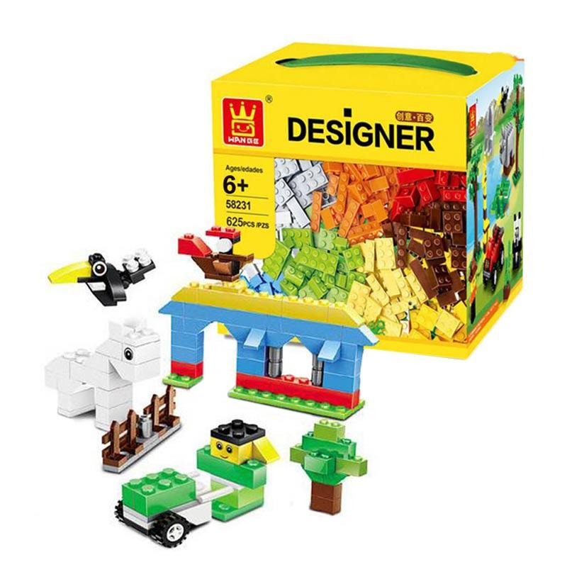 harga Wange 58231 Brick Designer Kids Blocks & Stacking Toys Blibli.com