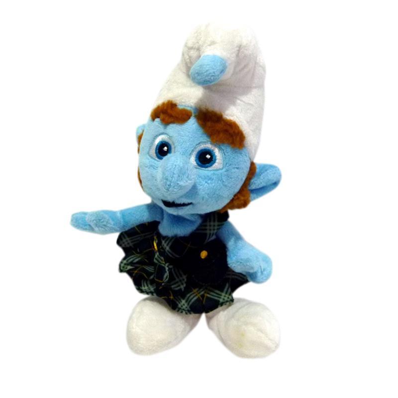 harga Smurfs Gutsy The Smurf Plush Doll Boneka [Original] Blibli.com