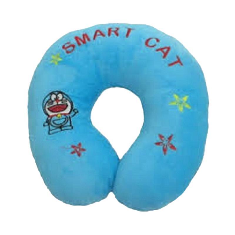 Radysa Doraemon Karakter Bantal Leher - Biru