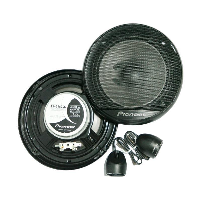 Jual Pioneer Ts G1604c 2 Way Speaker Components System 6 5 Inch Audio Mobil Speaker Mobil Online Februari 2021 Blibli