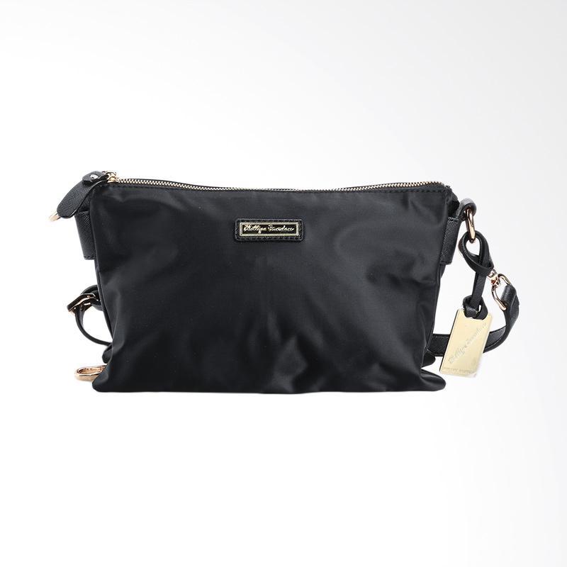 harga Phillipe Jourdan THA 097 Milly Sling Bag Wanita - Black Blibli.com