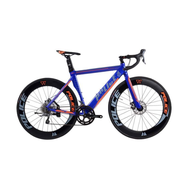 harga Element Police 911 Sepeda Balap Roadbike - Biru Blibli.com